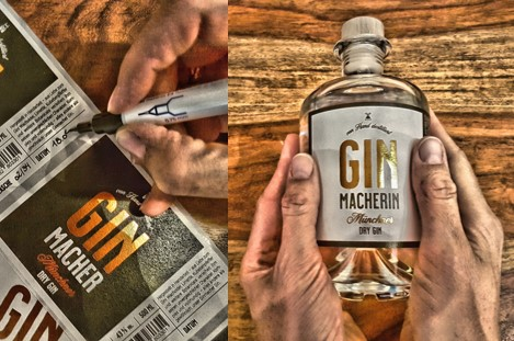 Ginmacher Gin-Verpackung